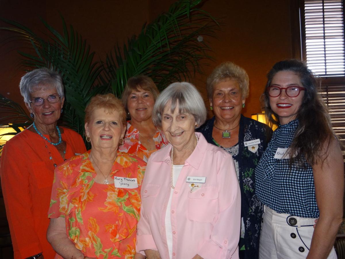 _Loura Barr, Mary Frances Young,  Ann Farr, Ann Hargon, Lauretta Tucker, and Kristy Finley .JPG