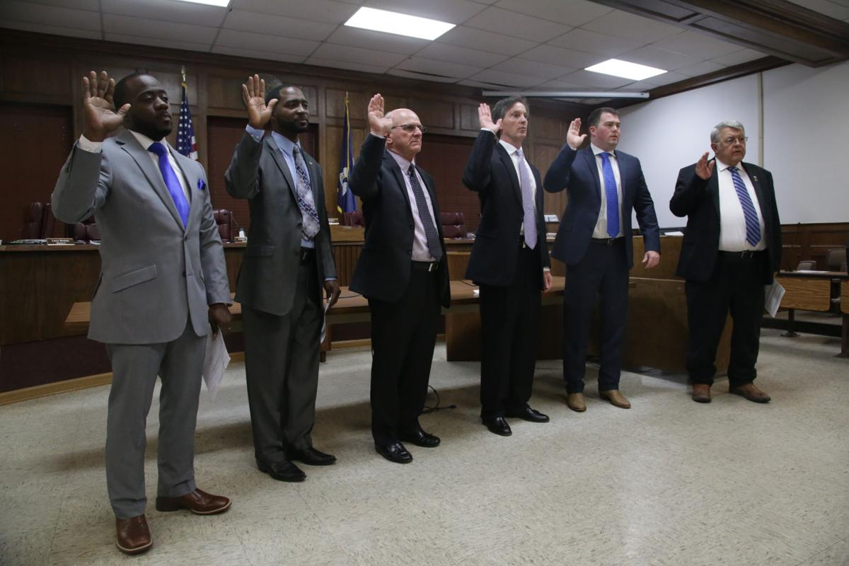 Ouachita Parish Police Jury sworn in.JPG