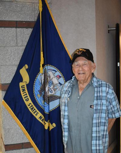 """U.S. Navy veteran Lawrence Joseph """"LJ"""" Menard"""