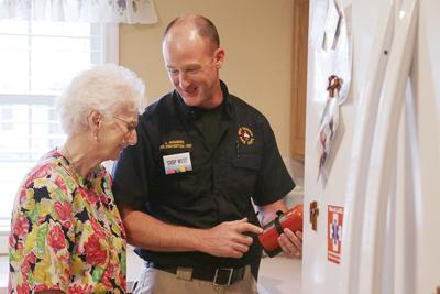 Firefighters begin home safety program