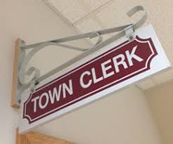 New town clerk