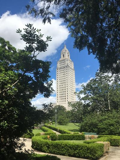 The Louisiana State Capitol building in Baton Rouge
