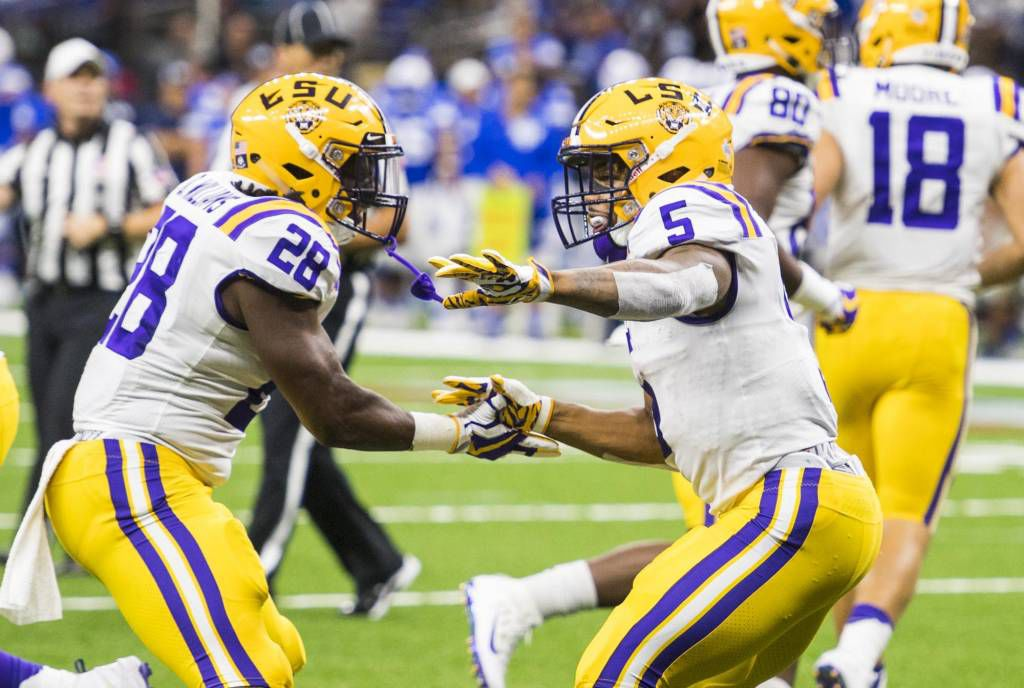 No. 13 LSU shuts down BYU, 27-0