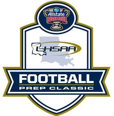 2014 LHSAA All-State Sugar Bowl Football Prep Classic Logo