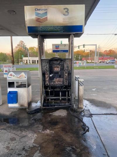 Fuel pump fire