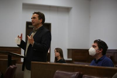 Judge Danny Ellender and court IT employee Randy Yacher.JPG