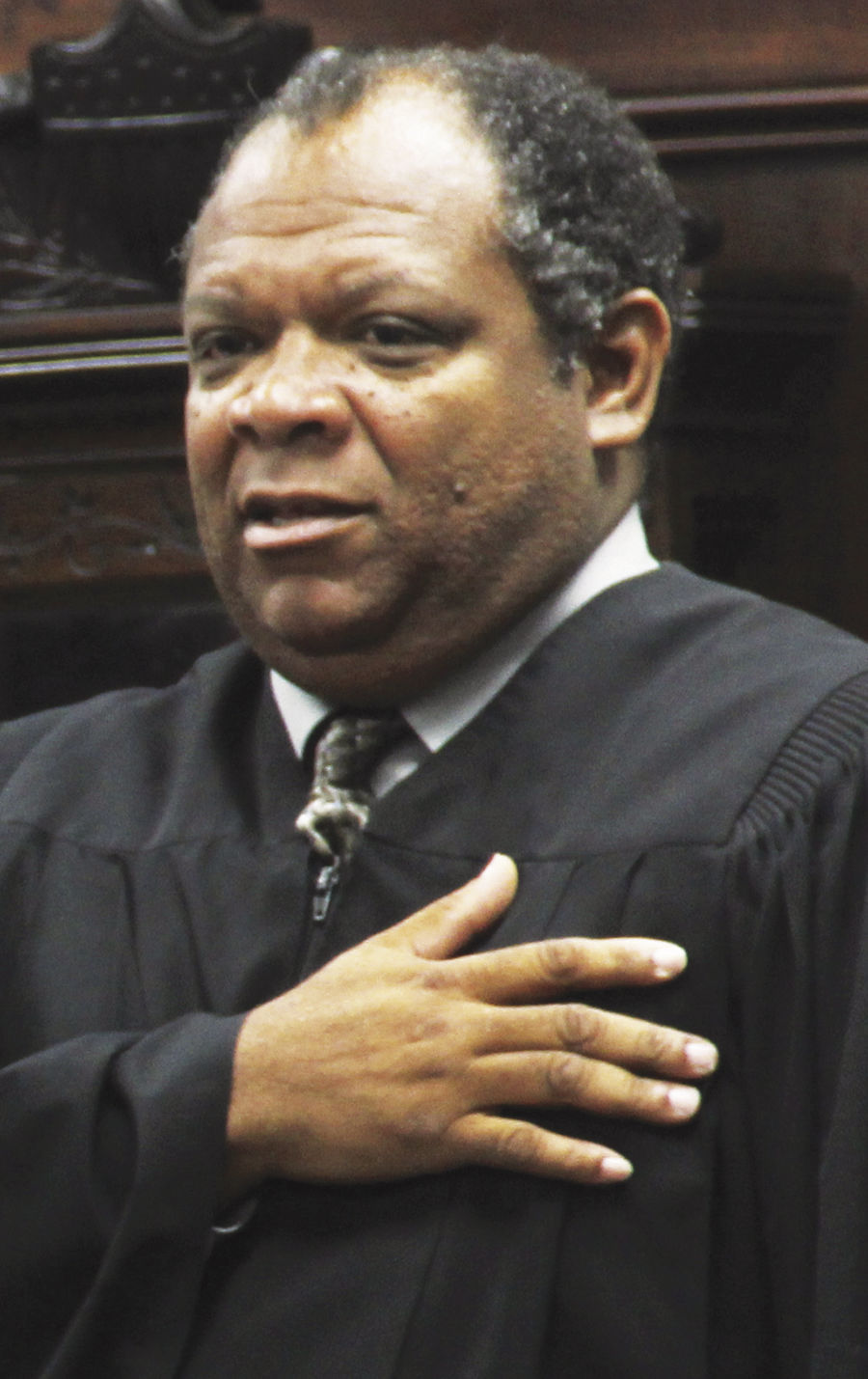 Fourth Judicial District Court Judge Carl Sharp
