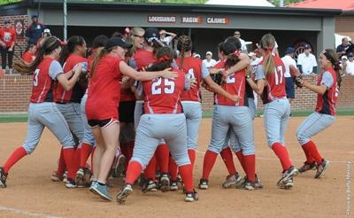 UL-L Lady Ragin Cajuns are headed to the 2014 NCAA College Softball World Series