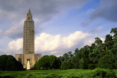 State Capitol Building in Louisiana
