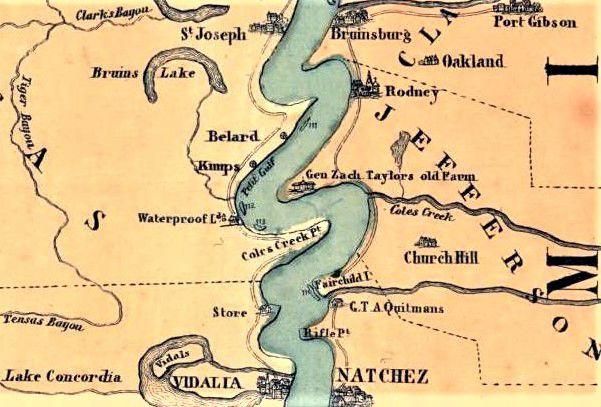 Natchez, Village of Washington