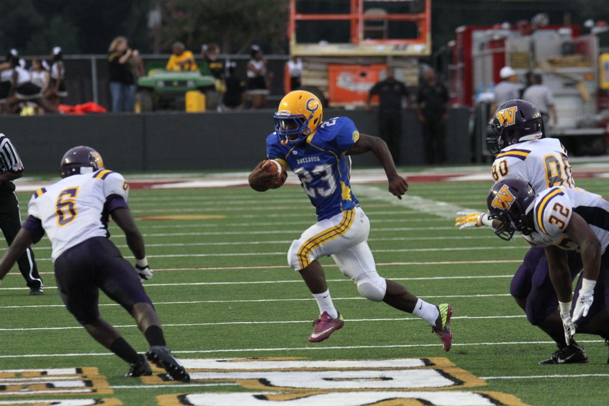 Carroll running back Jay Williams (#23)