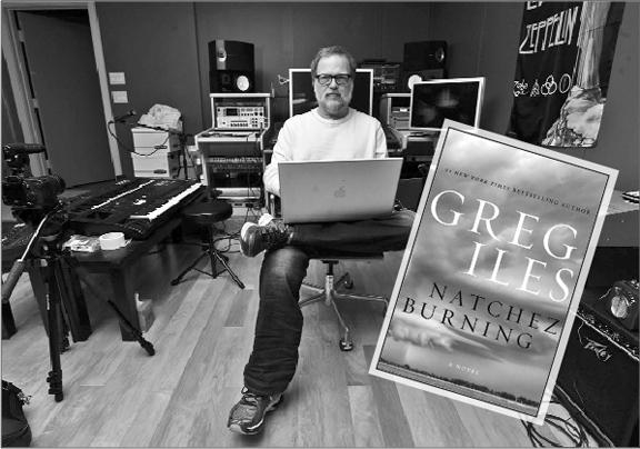 Natchez novelist (and musician) Greg Iles. (Photo courtesy Ricky Guy)