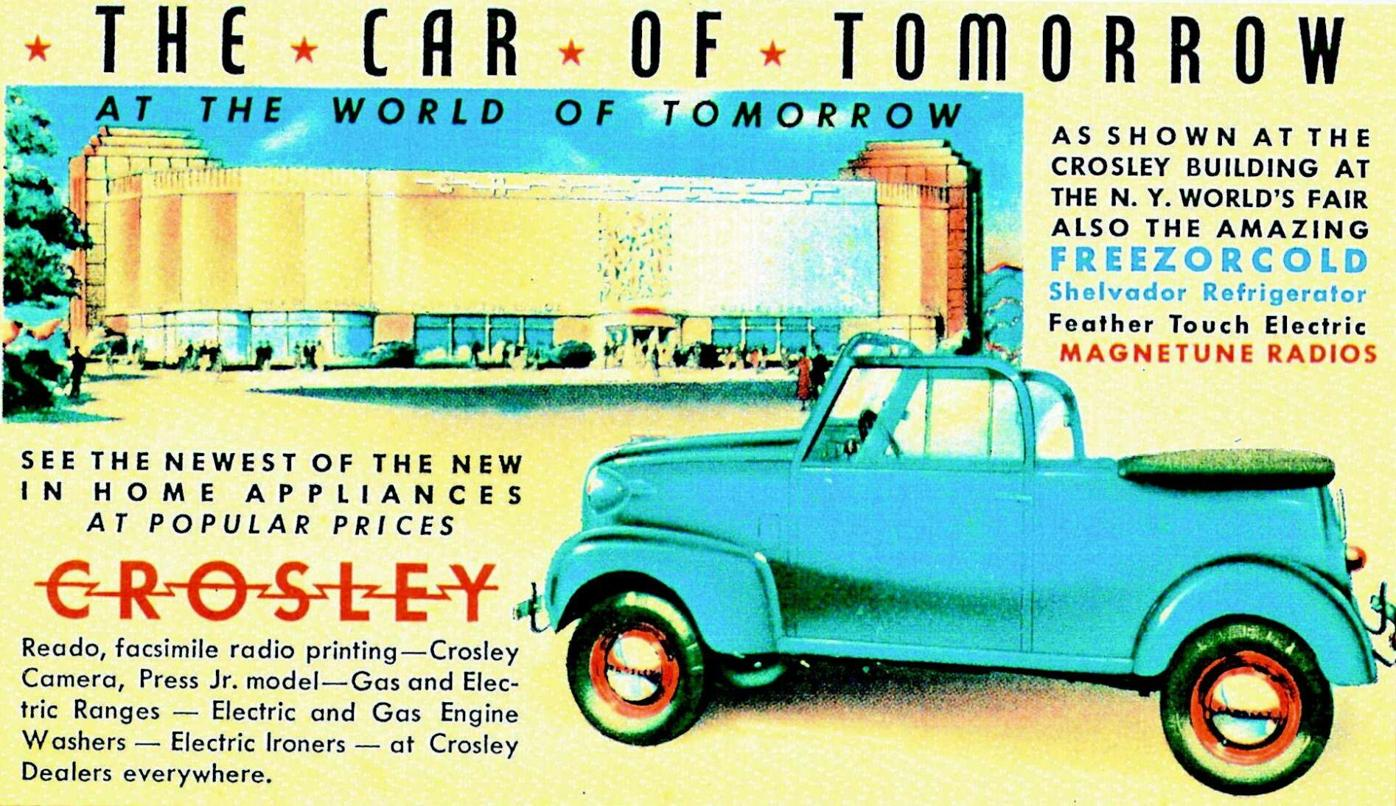 Cars We Remember: A look back: Crosley sub-compact and military vehicles