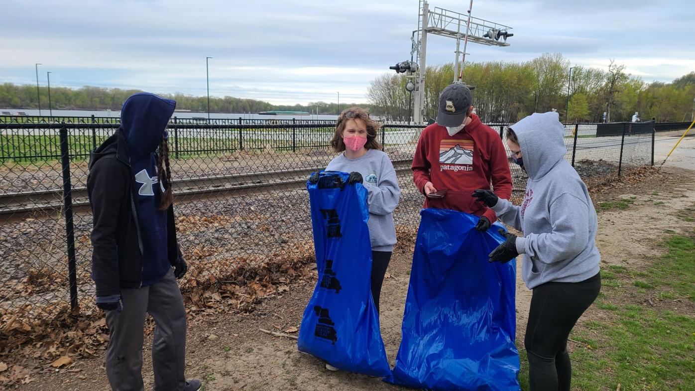 HHS Environmental Club contributes to national effort to keep pollution out of waterways