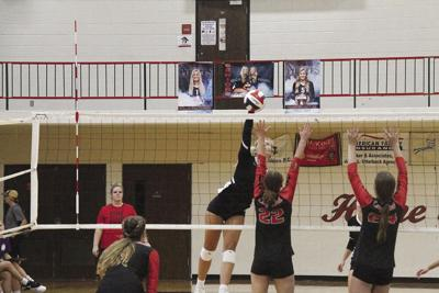 Hannibal volleyball defeats Troy Buchanan to win fourth straight