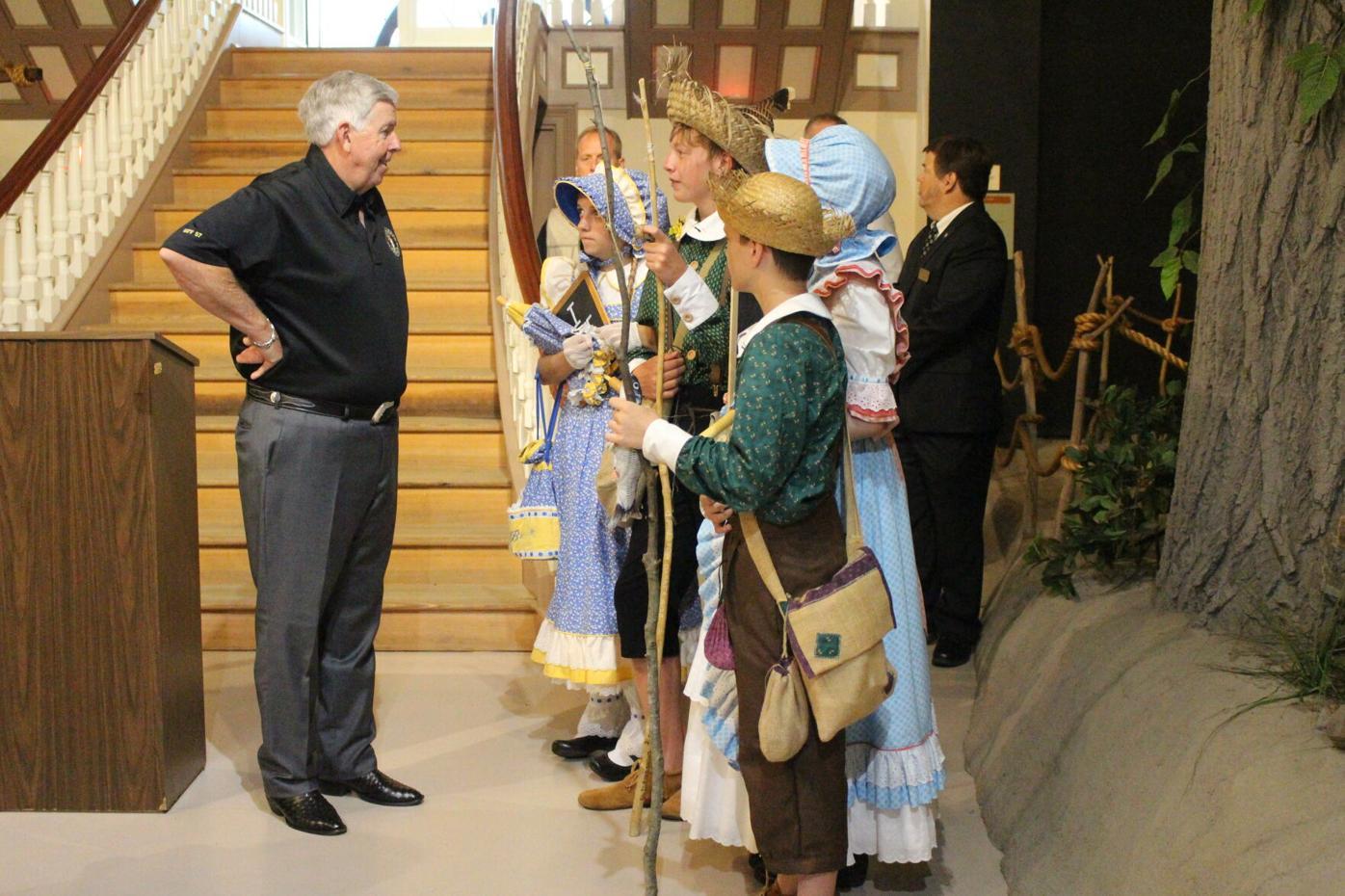 Gov. Parson visits America's Hometown on Bicentennial Tour