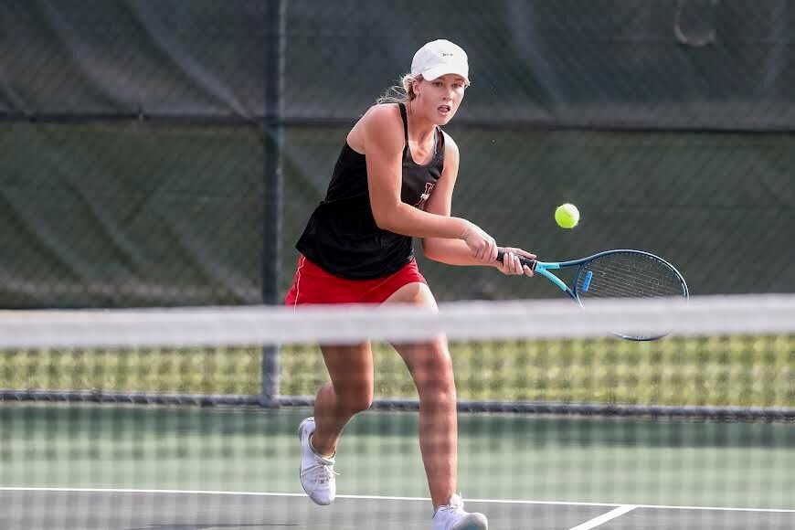 Hannibal tennis stays perfect with big win over QND