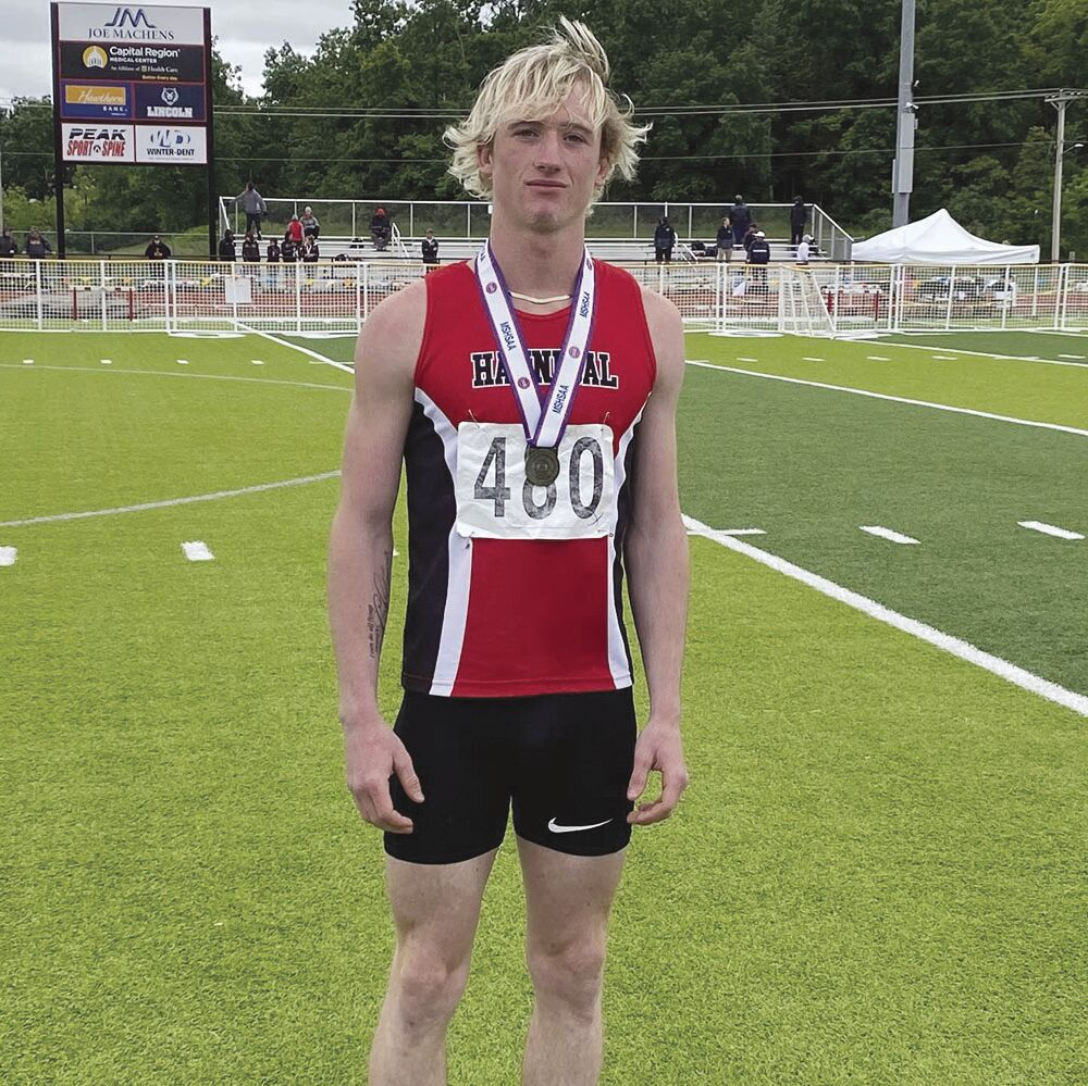 Clubine wins javelin, Hannibal earns five medals at state track meet