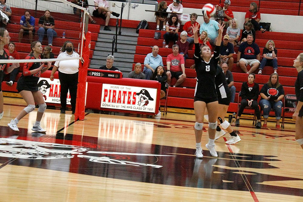 Hannibal wins third straight volleyball game