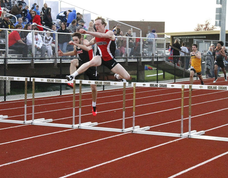 Action from the Jerry Ball Relays