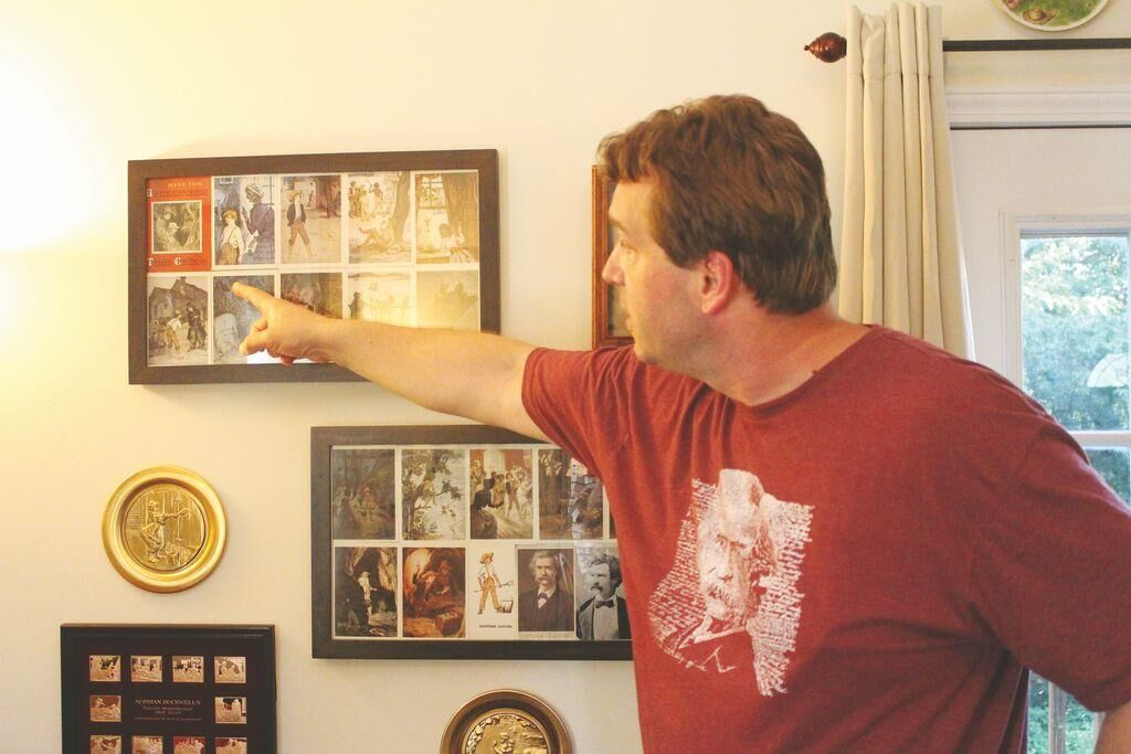 Twain's heritage reflected in local collection