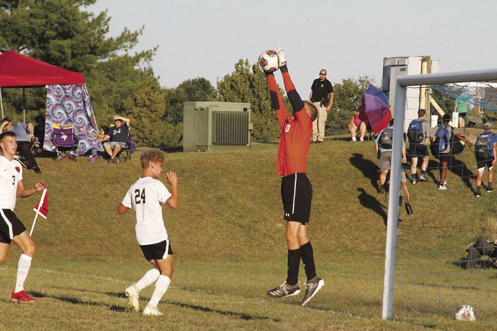 Tharp scores lone goal to give Hannibal win over Canton
