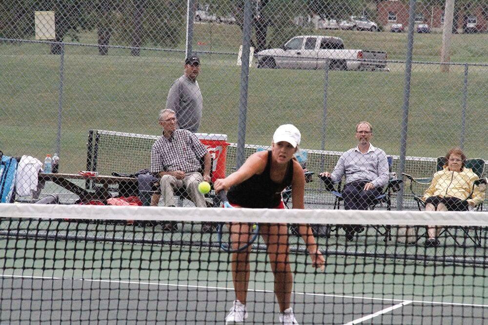 Hannibal tennis advances to district championship game