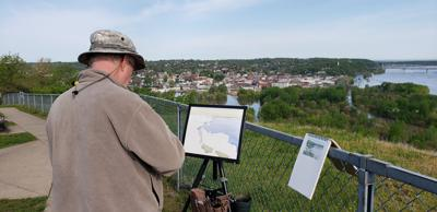 Fresh art will be made daily for purchase at River Bluffs Paint Out