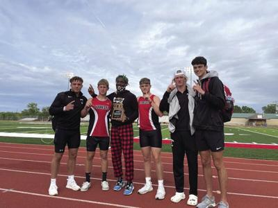 Hannibal track steps up to competition at district meet