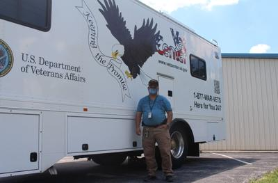 Mobile Vet Center brings various services to local veterans and their families