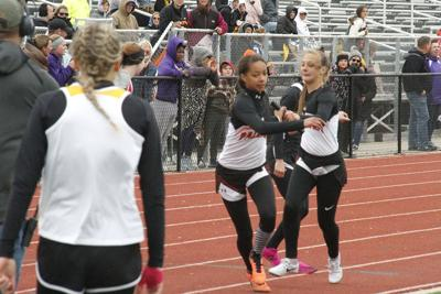 Palmyra falls short to Clark County in girls district track meet