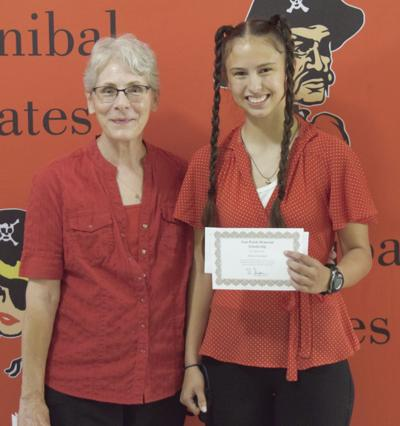 HHS student earns Walsh Memorial Scholarship