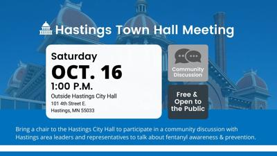 Hastings City Hall Town Hall poster