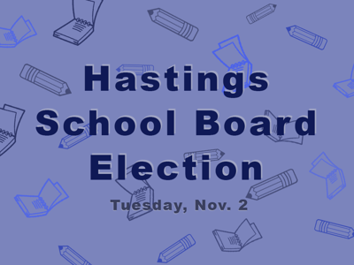 School Board Election banner