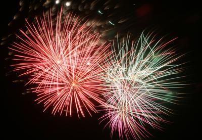 Brickyard fireworks
