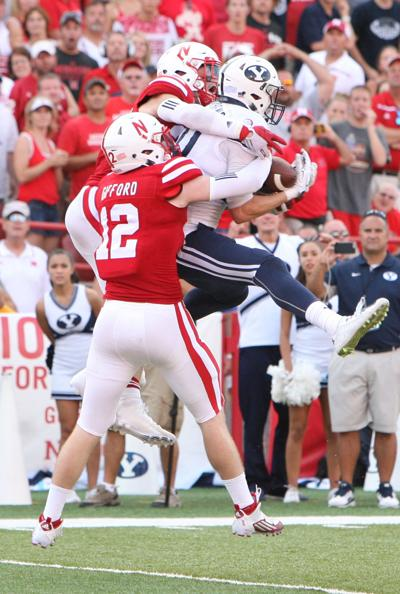 Nebraska Fball the catch