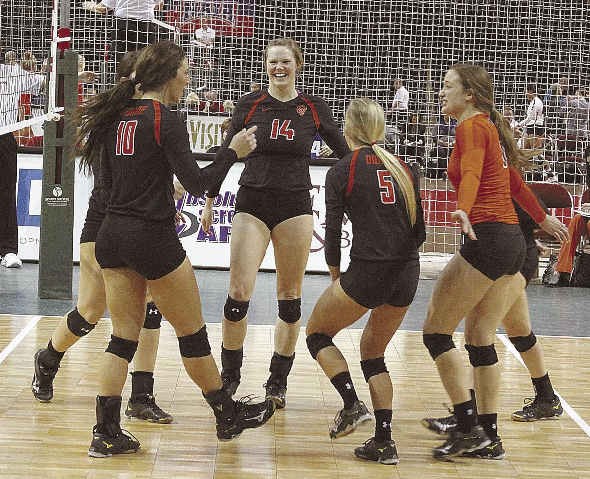 Badger Volleyball Roster