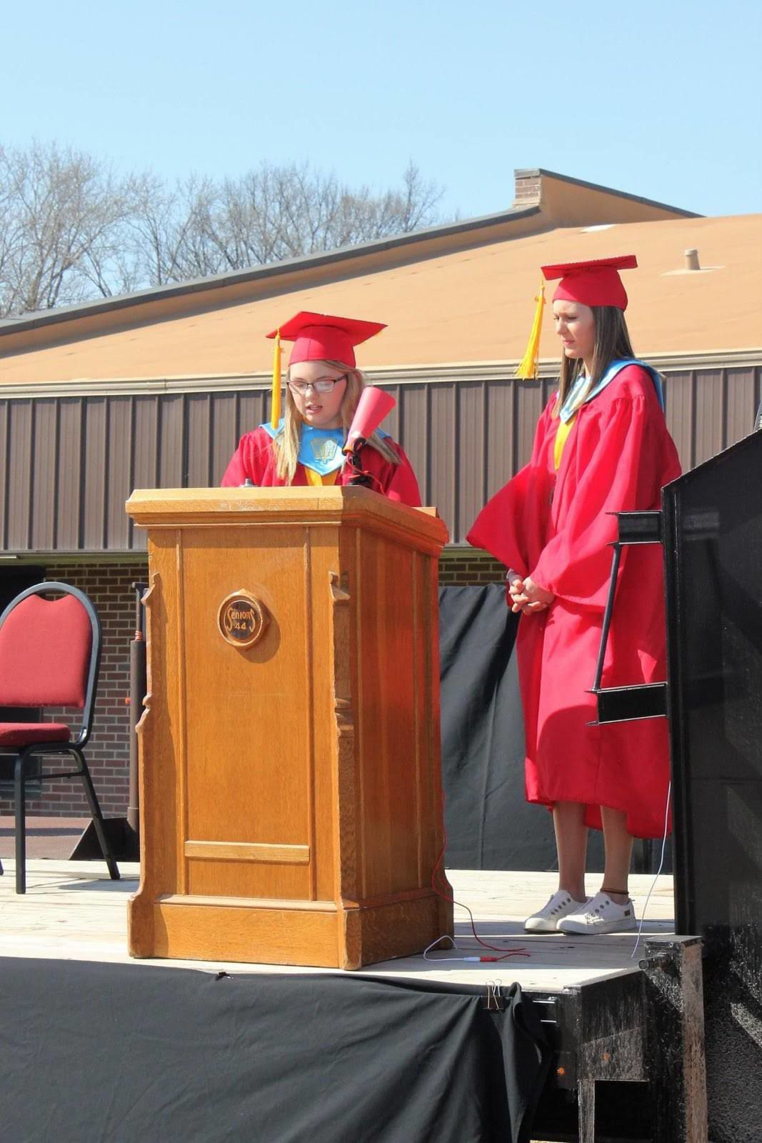 Red Cloud graduation speech
