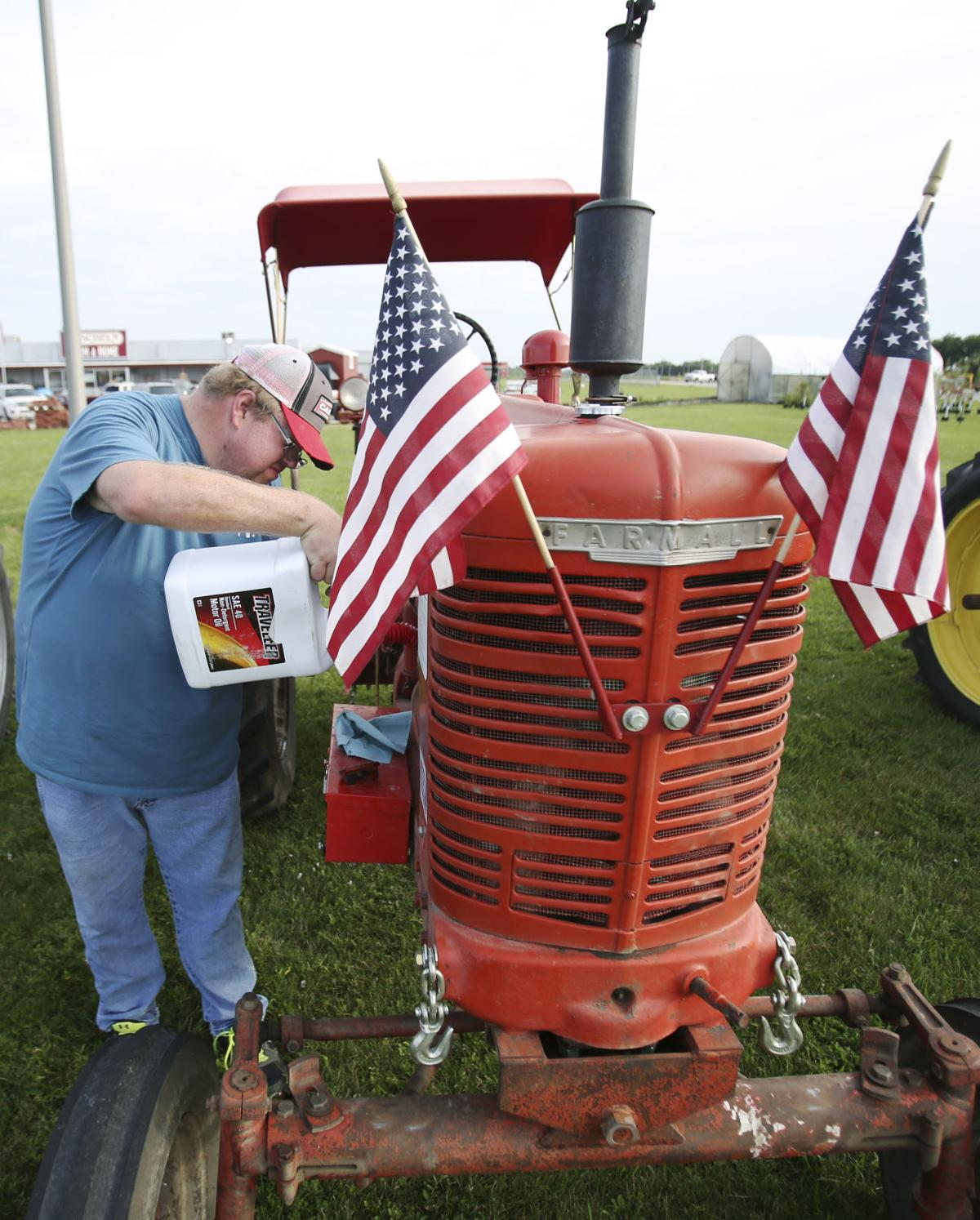 Tractor Relay Across Nebraska 2