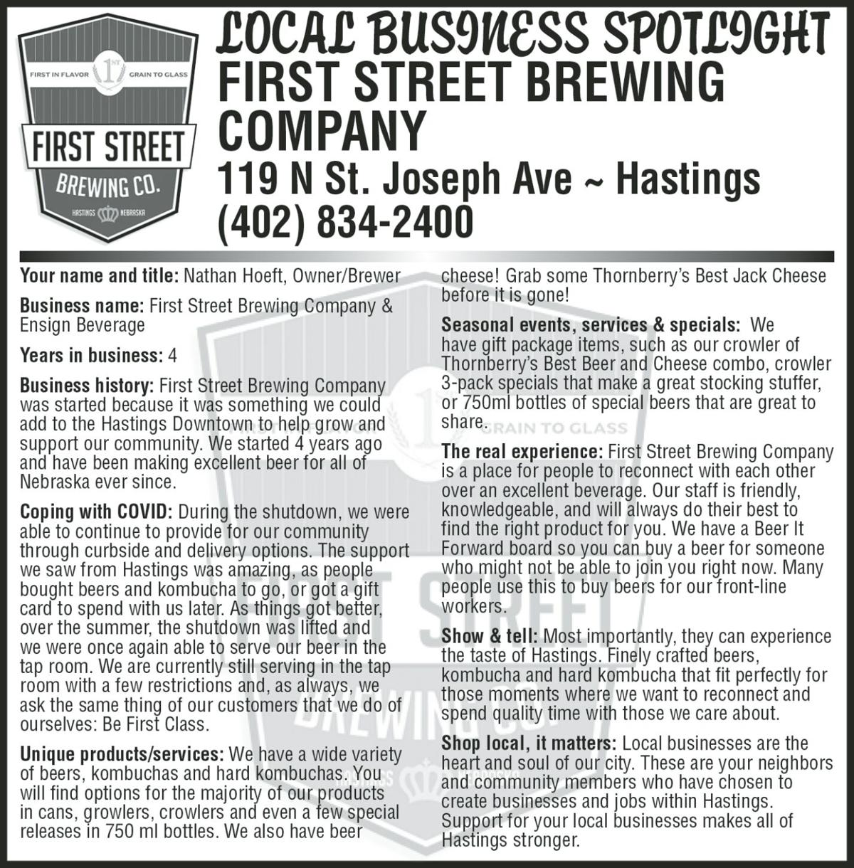 First Street Brewing
