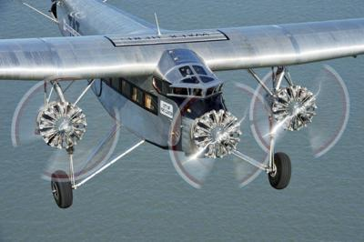 Ford Tri-Motor plane