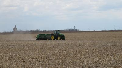 Soybean planting 2020