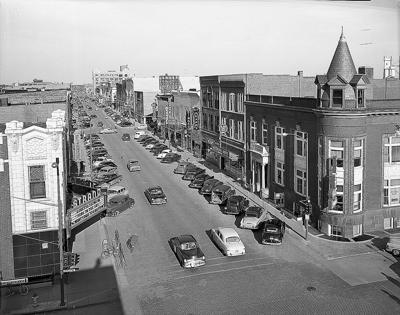 Second Street in 1955