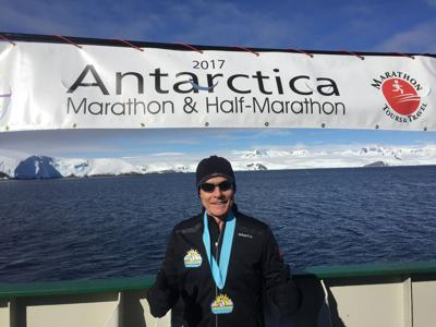 Kraig Lofquist with Antarctica Medal copy