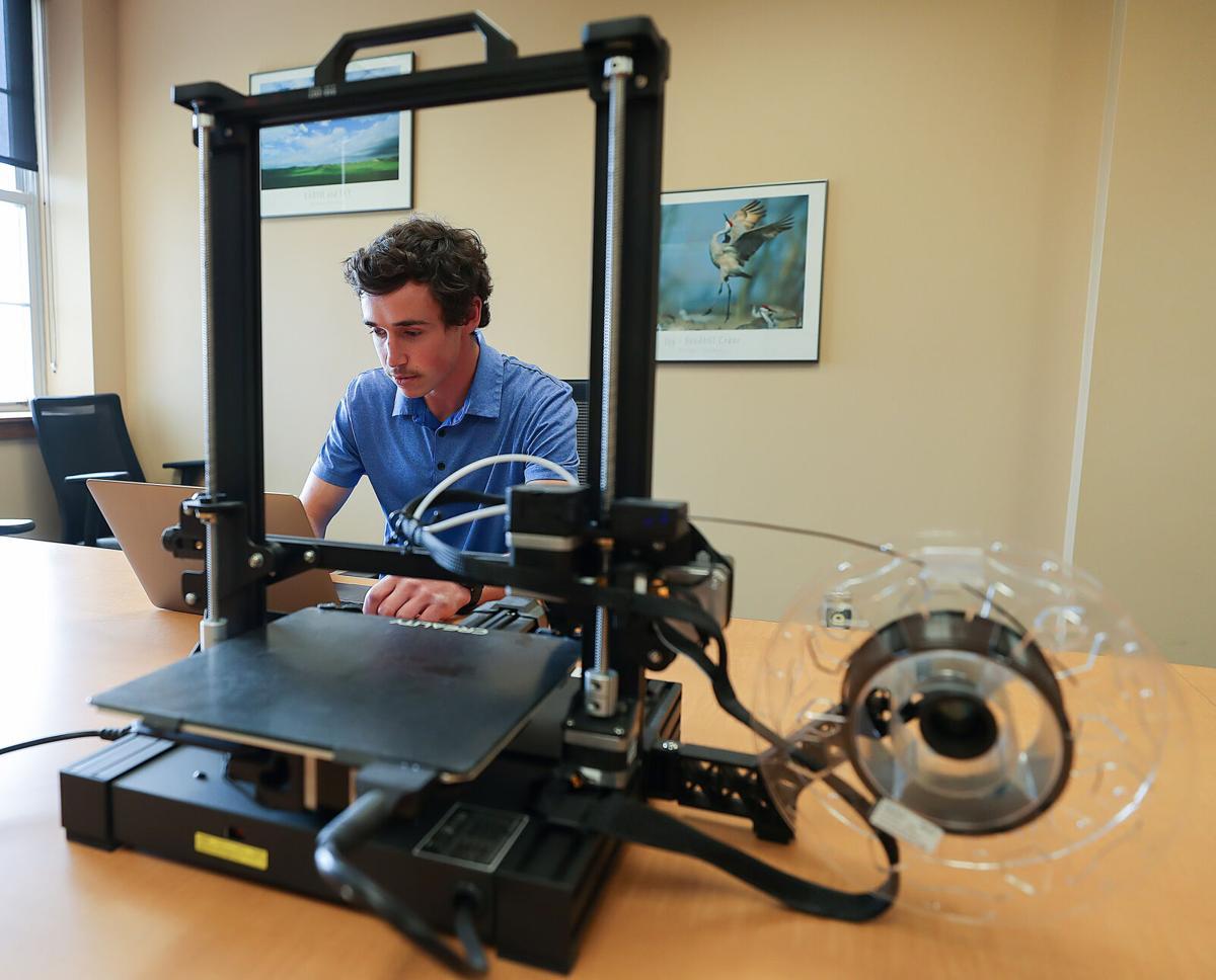 Justin Vrooman 3D printer
