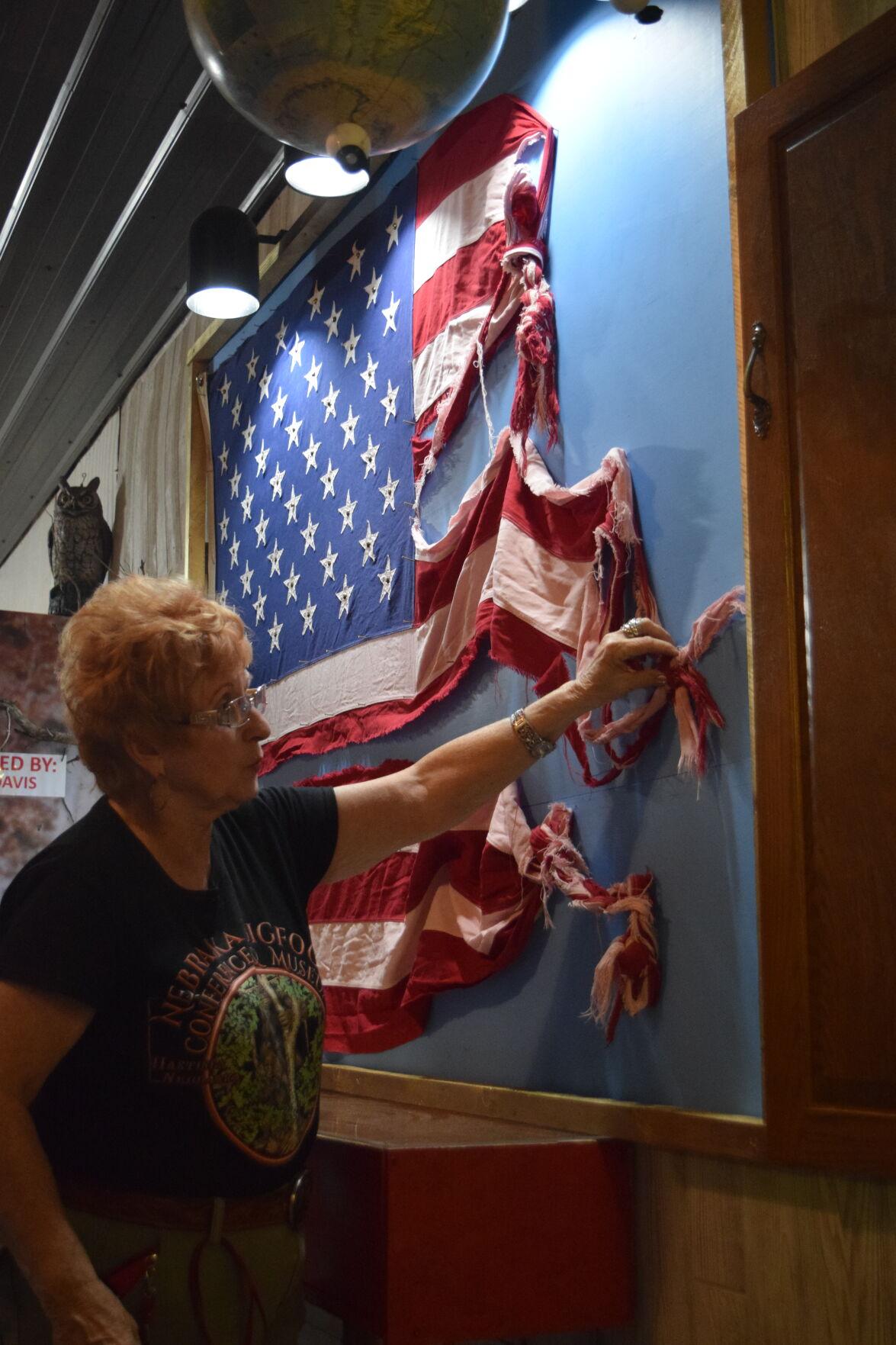 Flag braid pointing