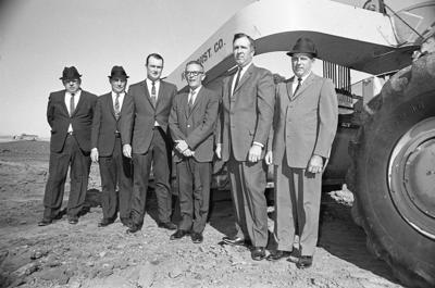 Adams Central groundbreaking 1967
