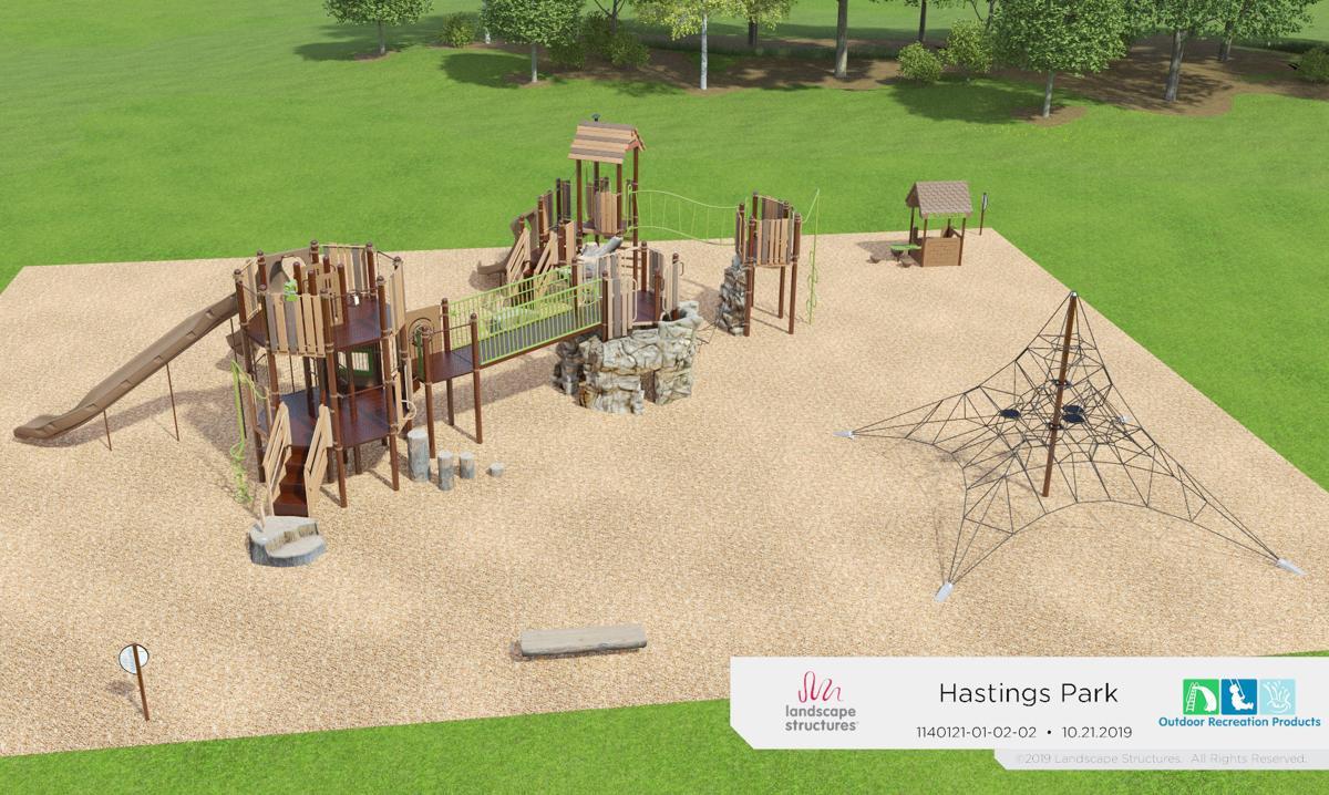 Brickyard playground