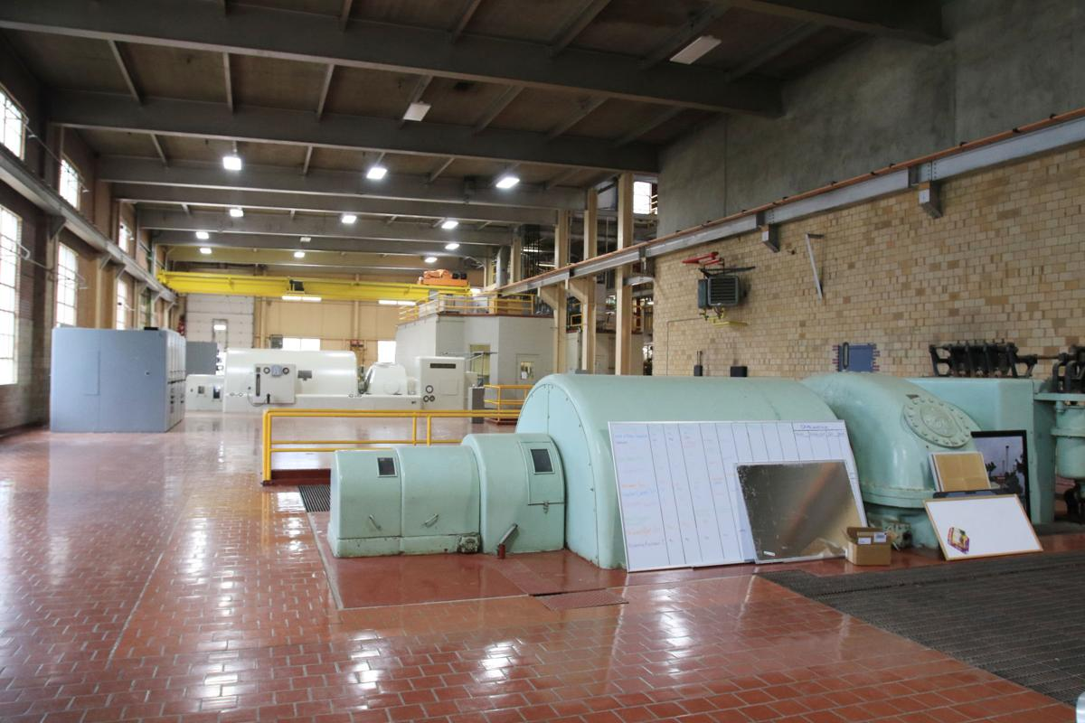 utilities turbine room