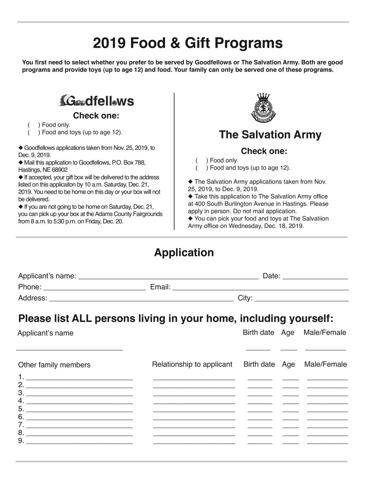 Goodfellows Application